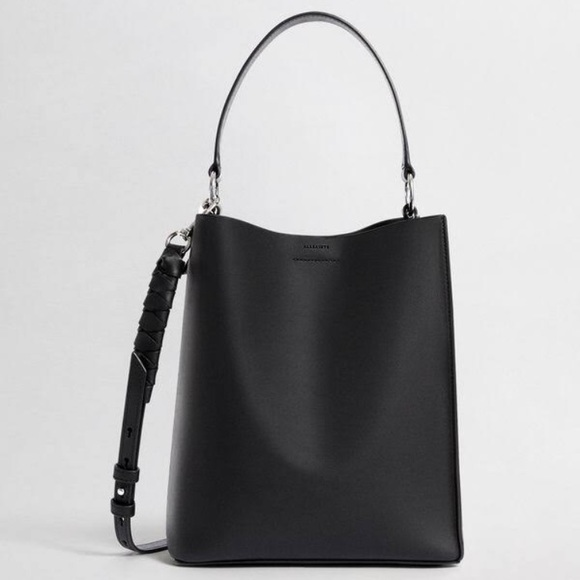 bf7ec5aac3b46b All Saints Bags | Voltaire Small North South Tote Black | Poshmark